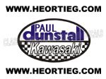 Paul Dunstall Kawasaki Tank and Fairing Transfer Decal DDUN7-2